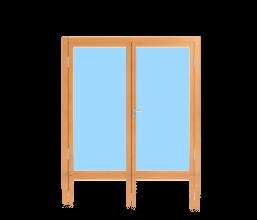 Rahmentüren für Aussenanwendung 2-flügelig