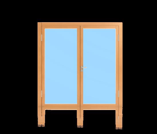 Rahmentüren für Innenanwendung 2-flügelig