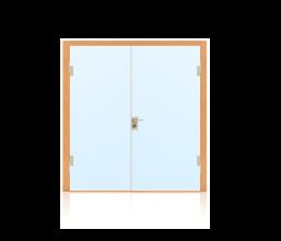 Ganzglastüren für Innenanwendung 2-flügelig