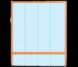 Stoßfugenverglasung Innenanwendung