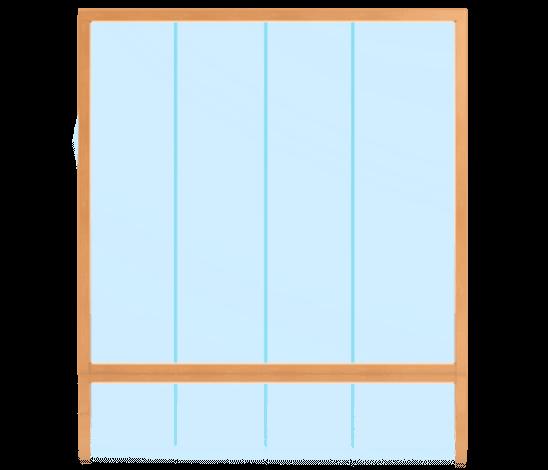 PLANO Stoßfugenverglasung Innenanwendung