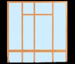 Pfosten Riegel Fassade
