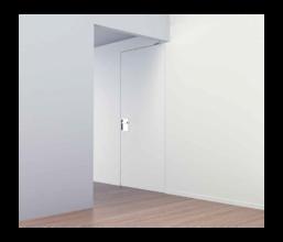 Sperr-/Pendel-Nischentüren für Innenanwendung 1-flügelig