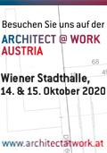 Besuchen Sie uns auf der ARCHITECT @ WORK AUSTRIA